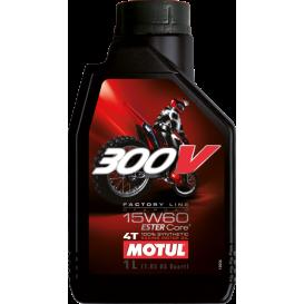 MOTUL 300V FACTORY LINE OFFROAD 15W60 1L