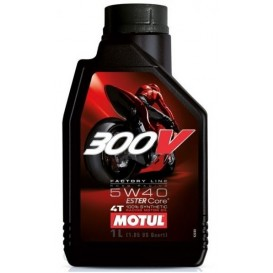 MOTUL 300V FACTORY LINE ROAD RACING 5W40 1L