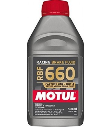 MOTUL RACING BRAKE FLUID RBF660 500ML