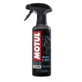 MOTUL MC CARE E1 WASH & WAX 400ML