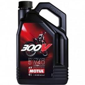 MOTUL 300V FACTORY LINE OFFROAD 5W40 4L