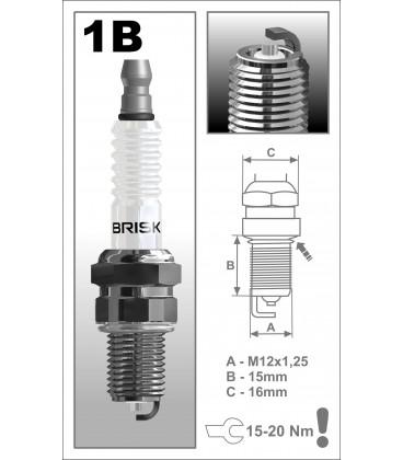 BRISK SILVER LPG/CNG GAS 1BR12S